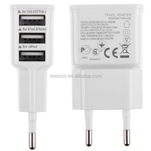 Universal EU US 5V 3.1A mobile phone wall charger adapter for Samsung wall charger
