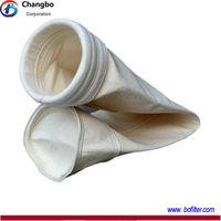 Baghousing Fiberglass dust filter bag for industrial application