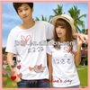 Korean couple design t shirt 2013