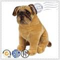 Tela Super suave lindo perro de peluche de juguete, Juguetes de peluche personalizados, La mascota de peluche bulldog