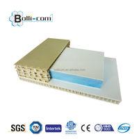 light weight Polypropylene honeycomb fiberglass panels for trailers