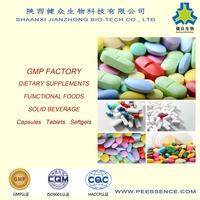 GMP factory Natural antioxidants Green Tea Extract Capsules