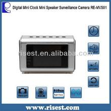 Top 940nm FM Radio Picture Shooting Clock Camera RE-MVS01