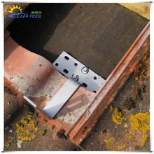 pitched tile roof solar mounting kits
