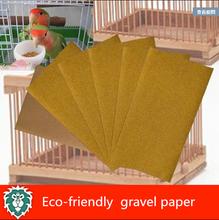 Natural environmental protection pet bird gravel paper