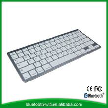 good puality new mini aluminum wireless bluetooth keyboard