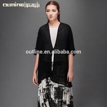 el último lunkuo modelos de diseño de blusa de manga corta 2015