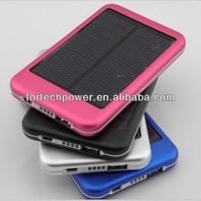 Solar panel phone charger 5000mah