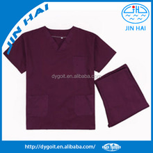 Fashion designs male scrubs uniform for nurse and doctor
