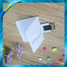 2gb Popular card shape business card usb flash drive with low price
