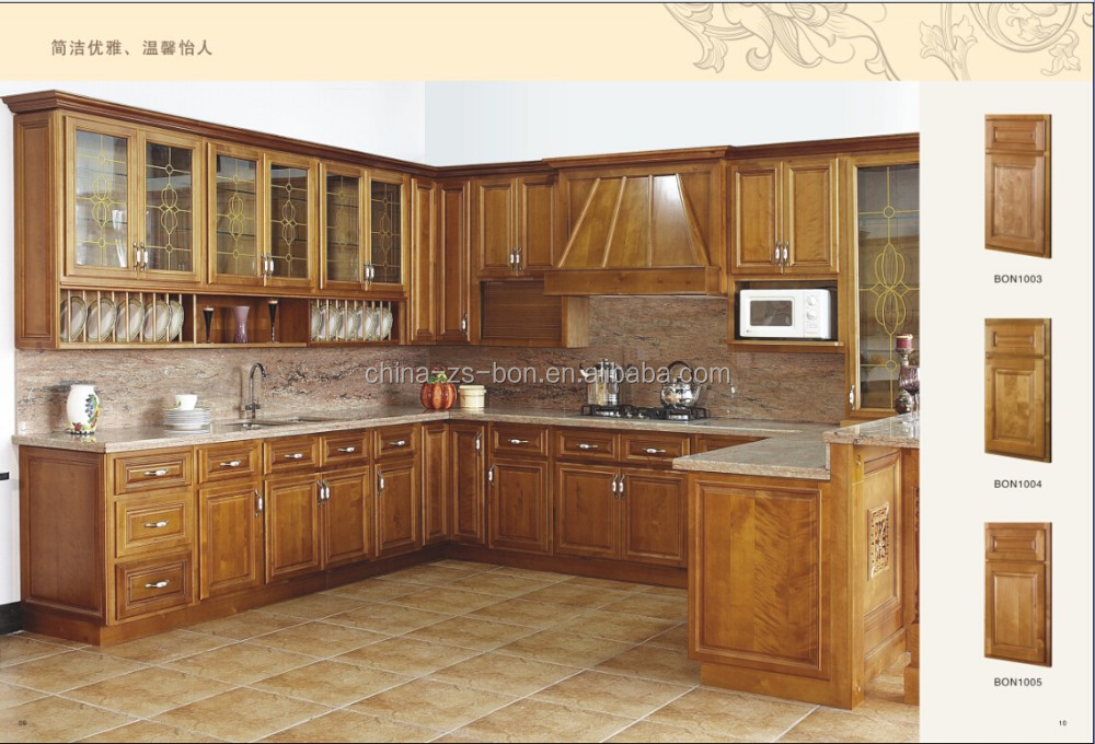 Usa style wood kitchen cabinet buy ktichen cabinet wood for Kitchen cabinets usa