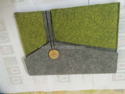 Slim Flip PU Leather Sleeve Notebook Bag Case For Macbook Pro