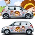 Janela da porta adesivos de carro está apto para bonito da menina a porta janela está apto para emblema do carro símbolo