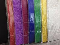 Colored glitter embossed EVA sheet
