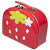 lunch tin box with handle and locks