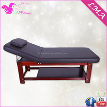 MA-41 massage room furniture wooden thai massage bed solid wooden cheap massage bed
