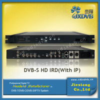 Full HD satellite Receiver Decoder Strong MPEG4