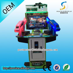 2015 new products coin operated simulator shooting game The haunted house for sale
