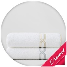 luxury custom terry 5 star hotel cotton shower towel
