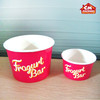 corrugated ripple paper cup/ ice cream cup/bowl/ double a paper