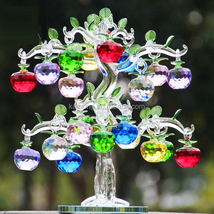 Exquisite home decor feature artificial crystal glass for Exquisite home decor