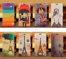 For Galaxy Note 4 Cartoon Painting Wallet Leather Flip Case Cover Stand