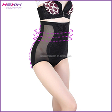 Cheap In Stock China Black Lace Plus Tummy Control Body Shaping Abdomen Slimming Underwear Women