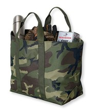 Army Green Large Handle Bags High Quality Popular Custom Camo Tote Bag