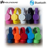 colorful memory card headphone with fm radio cheap price from factory