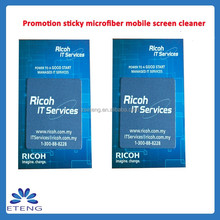 Promotion HOT Selling custom sticky mobile screen cleaner