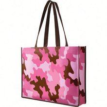 New fashion reusable fancy shopping laminated bag