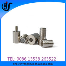 CNC turning production of precision metal parts