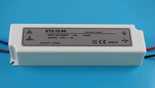 High quality waterproof led trafo switching 12v 5a 60w, led lighting power adapt driver, meanwell same quality