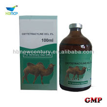 veterianry use Oxytetracycline hcl 5% Injection base