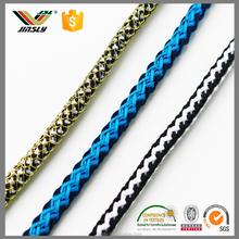 eco friendly colourful nylon braided cord for garment