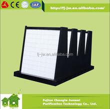 V-bank 4v compact filter, F6-H14 ABS Plastic Rigid Box Air Filter