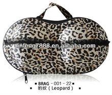 2013 Year Wholesale Leopard Travelling Bra Bag (BRAG-001-22)