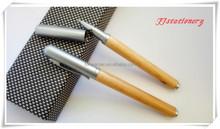 Cheap promotional Exclusive Modern & Elegant Design gel pen, Industry wooden Roller pen