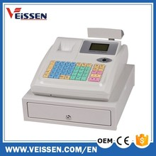 Black and white colors 36 departments cashier machine for restaurant