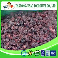 Chinese frozen blackberry B garde for jam
