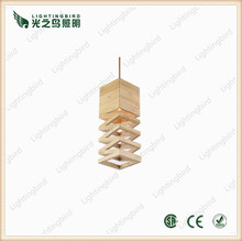 2015 modern wooden bedroom furniture/woopd pendant lamp supply in china zhongshan city