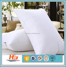 Cheap White 100% Polyester Fiber Filling Pillow For Hotel And Hospital