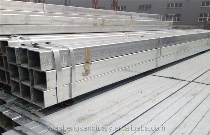 Galvanized square pipe steel