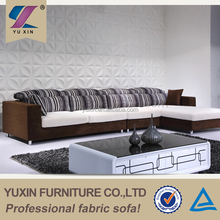 Cheap furniture Guangzhou/Comfortable fabric sofa set