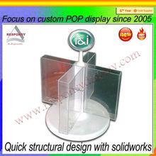 plexiglasscard displays desktop office used products display stand