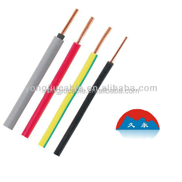 Single Conductor Cable : Single core copper conductor pvc insulated flexible power