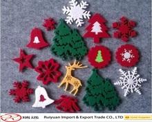Wholesale fashionable felt christmas ornaments