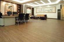 PVC wood design Flooring Tile anti-static pvc vinyl tile flooring prices