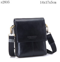 PU Leather Soft Messenger Mini Flap Messenger Men Bag S2835