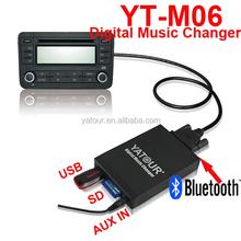 usb/sd card/mp3 kit to VW/Toyota/Peugeot/BM original car interface